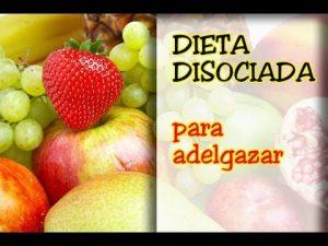 dieta disociada para adelgazar