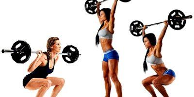 Rutina pesas mujer