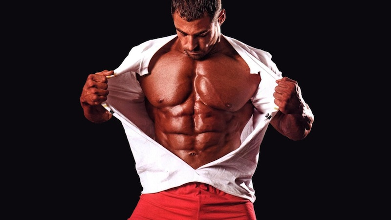 músculos grandes
